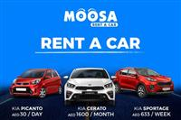 Moosa rent a car online Dubai